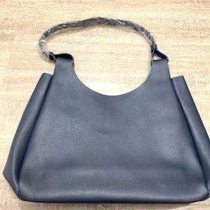 Norman Marcus Navy Blue Shoulder Bag